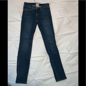 Lagence Chantal Skinny Jean size 25 low rise
